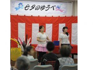 七夕のゆうべバルーンアート2-2